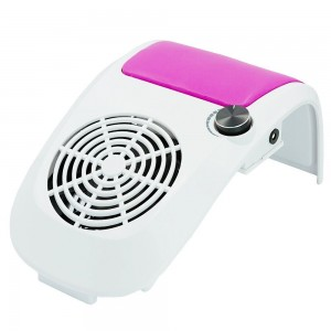 Colector praf unghii  (aspirator praf unghii) profesional HotNails cu 1 ventilator 60W, reglare viteza aspiratie HN304