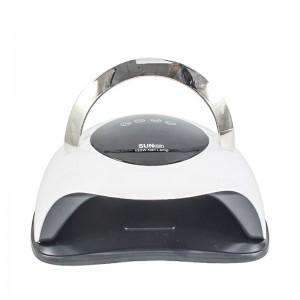 Lampa unghii DUBLA UV LED SUN BQ5T, 120W , Display, Senzor, Timer, Low Heat Mode HN202